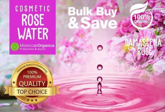 PURE damascena rose water 10 LITERS natural organic
