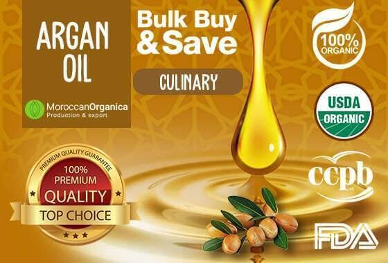 Culinary argan oil CCBP certified